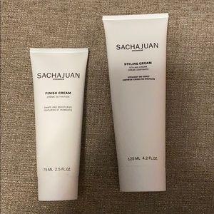 Sachajuan Styling Cream and Finish Cream